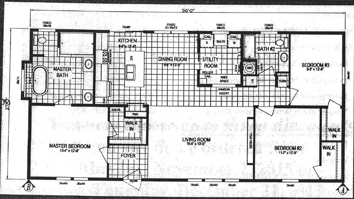 16x80 clayton mobile home floor plans 16x80 best home